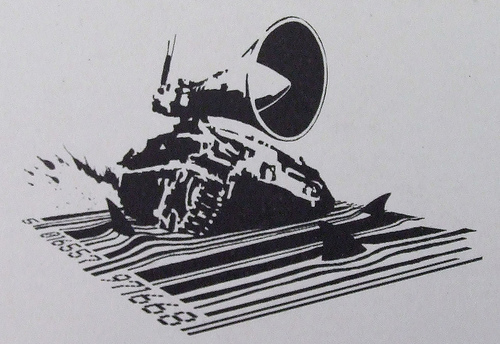 Megaphone-tank